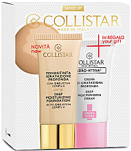 Parfumuri și produse cosmetice Set - Collistar Deep Moisturizing Biscult (foundation/30ml + cr/25ml)