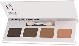 Parfumuri și produse cosmetice Paletă farduri de ochi - Couleur Caramel Bio Sublime Eye Palette