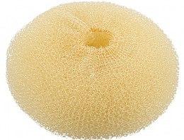 Parfumuri și produse cosmetice Burete pentru coc, bej deschis, 110 mm - Lussoni Hair Bun Ring Yellow