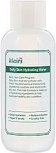 Parfumuri și produse cosmetice Toner profund hidratant pentru față, cu extract de ceai verde - Klairs Daily Skin Hydrating Water