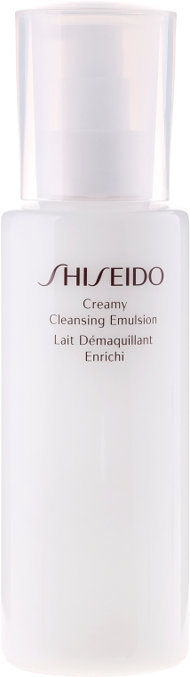 Emulsie demachiantă - Shiseido Creamy Cleansing Emulsion — Imagine N2