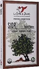 """Parfumuri și produse cosmetice Pudră decolorantă pentru păr """"Sidr"""" (Jujube) - Le Erbe di Janas Sidr (Ziziphus)"""