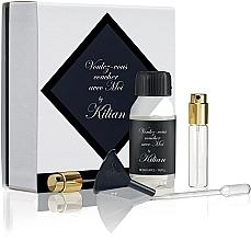 Parfumuri și produse cosmetice Kilian Voulez-Vous Coucher Avec Moi Refill - Set (refill/50ml + funnel + dropper + vial/7.5ml + spray)