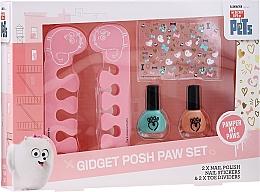 Parfumuri și produse cosmetice Set - Corsair The Secret Life Of Pets (n/polish/2pcs + accessory/2pcs + n/sticker/1pc)