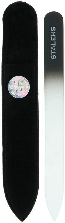 Pilă din cristal pentru unghii, F4-12-120, grafit - Staleks (12cm)