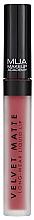 Parfumuri și produse cosmetice Ruj lichid mat de buze - MUA Academy Velvet Matte Long-Wear Liquid Lip