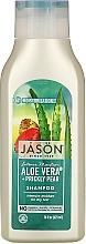 "Parfumuri și produse cosmetice Șampon hidratant ""Aloe Vera"" - Jason Natural Cosmetics Moisturizing Aloe Vera 84% Shampoo"