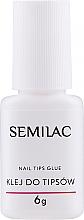 Parfumuri și produse cosmetice Adeziv pentru tipsuri - Semilac Nail Tip Glue