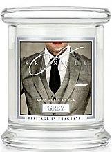 Parfumuri și produse cosmetice Lumânare aromată (pahar) - Kringle Candle Grey