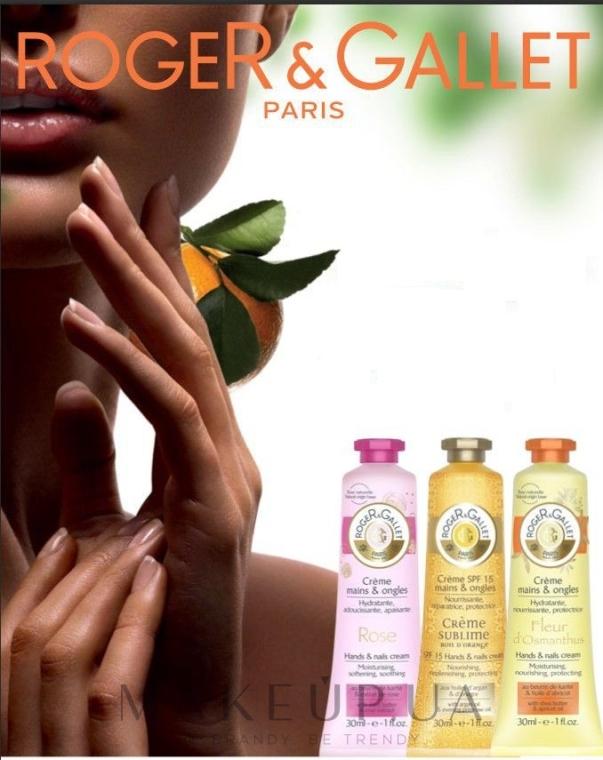 Cremă parfumată pentru mâini și unghii - Roger & Gallet Rose Hand & Nail Cream — Imagine N3