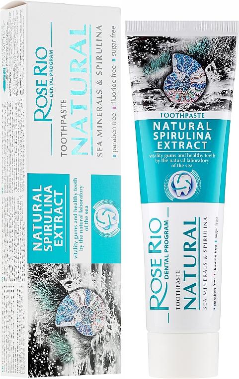 Pastă de dinți - Rose Rio Natural Sea Minerals & Spirulina Toothpaste