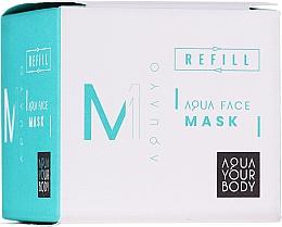 Parfumuri și produse cosmetice Mască hidratantă de față - AQUAYO Aqua Face Mask (rezervă)