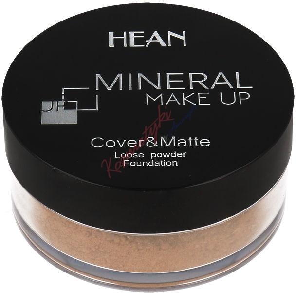 Pudră minerală pentru față - Hean Mineral Make Up Cover&Matte Loose Mineral Powder