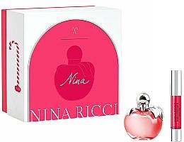 Parfumuri și produse cosmetice Nina Ricci Nina - Set (edt/50ml + lipstick/2.5g)