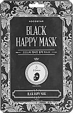 Parfumuri și produse cosmetice Mască de față - Kocostar Black Happy Mask