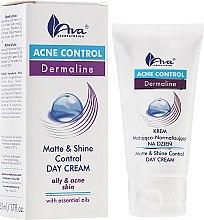 Parfumuri și produse cosmetice Cremă-gel cu efect matifiant de zi pentru față - Ava Laboratorium Acne Control Matt & Shine Day Cream