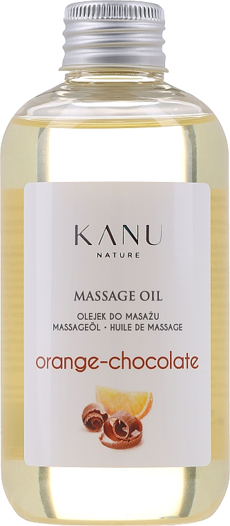 "Ulei de masaj ""Portocală și ciocolată"" - Kanu Nature Orange Chocolate Massage Oil"