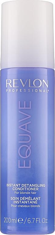 Balsam pentru părul blond cu keratină - Revlon Professional Equave 2 Phase Blonde Detangling Conditioner — Imagine N1