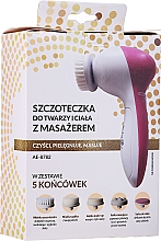 Parfumuri și produse cosmetice Perie pentru față și corp cu massager - Gly Skin Care