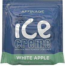 Parfumuri și produse cosmetice Pudră iluminantă pentru păr - Affinage Salon Professional Ice Creme White Apple Bleach