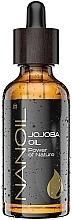 Parfumuri și produse cosmetice Ulei de jojoba - Nanoil Body Face and Hair Jojoba Oil