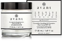 Parfumuri și produse cosmetice Cremă calmantă și protectoare de zi - Avant Skincare Ceramides SPF20 Soothing and Protective Day Cream