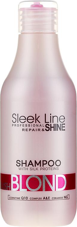 Șampon - Stapiz Sleek Line Blush Blond Shampoo