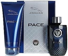 Parfumuri și produse cosmetice Jaguar Pace - Set (edt/100ml + sh/gel/200ml)