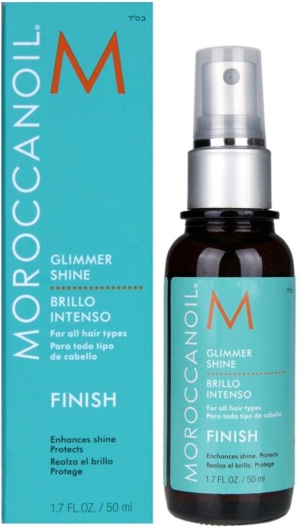 Spray hidratant ce conferă lstrălucire - Moroccanoil Glimmer Shine — Imagine N4