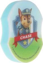 "Parfumuri și produse cosmetice Burete de baie ""Paw Patrol"", Chase 2 - Suavipiel Paw Patrol Bath Sponge"