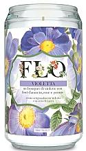 """Parfumuri și produse cosmetice Lumânare parfumată """"Violetă"""" - FraLab Flo Violetta"""