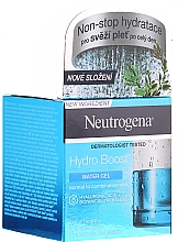 Gel pentru ten normal și mixt - Neutrogena Hydro Boost Water Gel For Normal & Combination Skin — Imagine N1