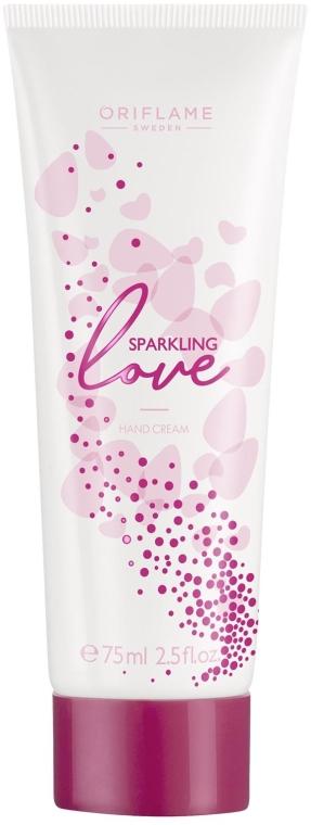Cremă de mâini - Oriflame Sparkling Love Hand Cream — Imagine N1