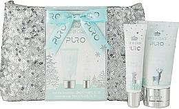 Parfumuri și produse cosmetice Set - Style & Grace Puro Glitter Bag Gift Set (h/lot/50ml + lip gloss/10ml + bag)