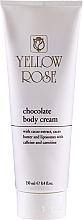 Parfumuri și produse cosmetice Cremă tonifiantă de ciocolată pentru masaj - Yellow Rose Chocolate Body Cream