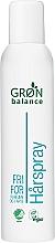 Parfumuri și produse cosmetice Lac de păr - Gron Balance Hairspray