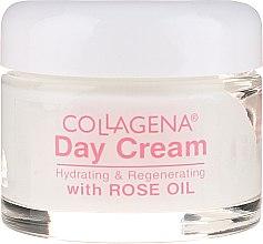 Cremă de zi pentru față - Collagena Rose Natural Day Cream — Imagine N2