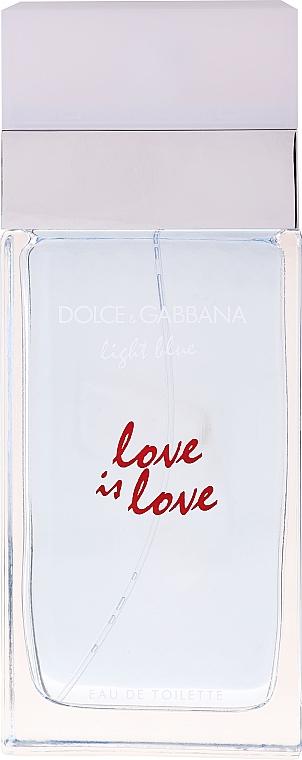 Dolce&Gabbana Light Blue Love is Love Pour Femme - Apă de toaletă (tester cu capac) — Imagine N1