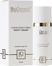 Parfumuri și produse cosmetice Cremă de noapte pentru față - BioDermic Caviar Extract Night Cream