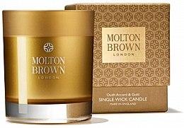 Parfumuri și produse cosmetice Molton Brown Mesmerising Oudh Accord & Gold Single Wick Candle - Lumânare parfumată