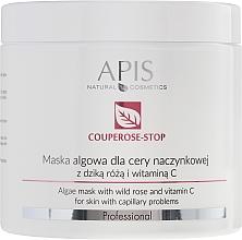 Parfumuri și produse cosmetice Mască de față cu extract măceș - APIS Professional Algae Mask