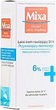 Parfumuri și produse cosmetice Cremă hidratantă pentru pielea normală și mixtă - Mixa Sensitive Skin Expert 24 HR Moisturising Cream