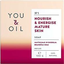 Parfumuri și produse cosmetice Săpun hrănitor pentru pielea matură - You & Oil Nourish & Energise Mature Skin