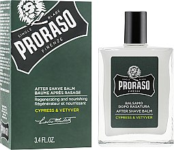 Parfumuri și produse cosmetice Balsam după ras - Proraso Cypress & Vetiver After Shave Balm