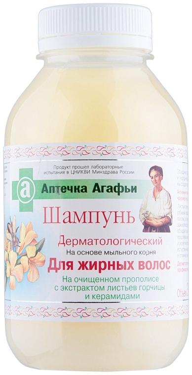 Șampon pentru păr gras - Retzepty Babushki Agafia