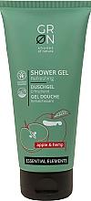 Parfumuri și produse cosmetice Gel de duș cu extract de măr și cânepă - GRN Essential Elements Apple&Hemp Shower Gel