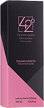 "Difuzor de aromă ""Italian sweets"" - 42° by Beauty More Italian Sweets Roses & Pannacotta Luxury Home Diffuser — Imagine N1"