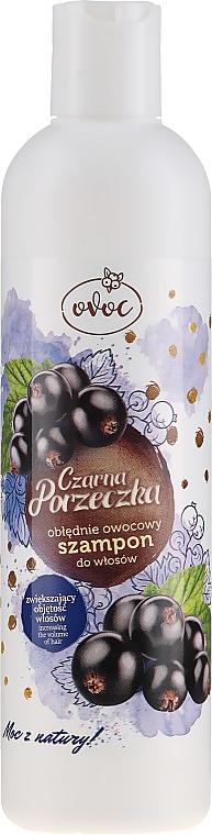 Șampon de păr cu extract de coacăză neagră și mătase - Ovoc Czarna Porzeczka Szampon