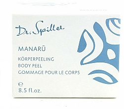 Parfumuri și produse cosmetice Cremă-peeling pentru față - Dr. Spiller Manaru Body Peel