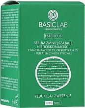 Parfumuri și produse cosmetice Ser facial cu 5% niacinamidă, 5% prebiotic și filtrat de apă de orez - BasicLab Dermocosmetics Esteticus